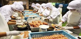 Tuyển 24 nữ Chế biến thực phẩm đi làm việc tại Nhật Bản. Lương 34 triệu đồng/tháng. Thời hạn hợp đồng 3 năm.