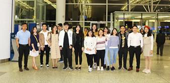 Tiễn đoàn du học sinh sang Đại học quốc gia Incheon du học tháng 12 năm 2018
